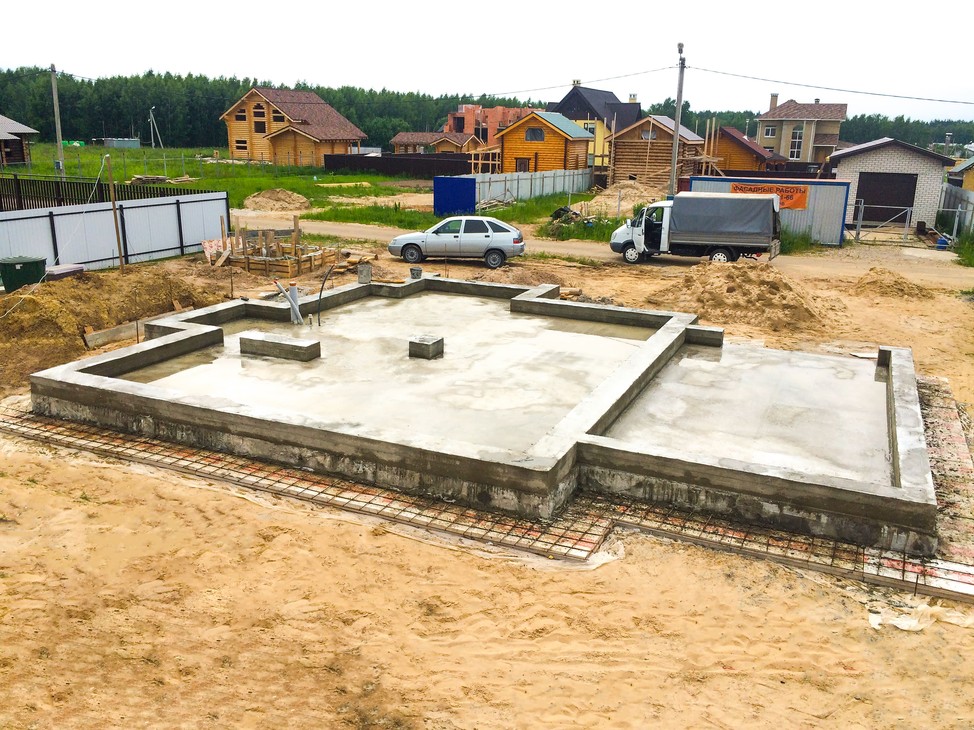 Сооружение фундаментов Щелковский район
