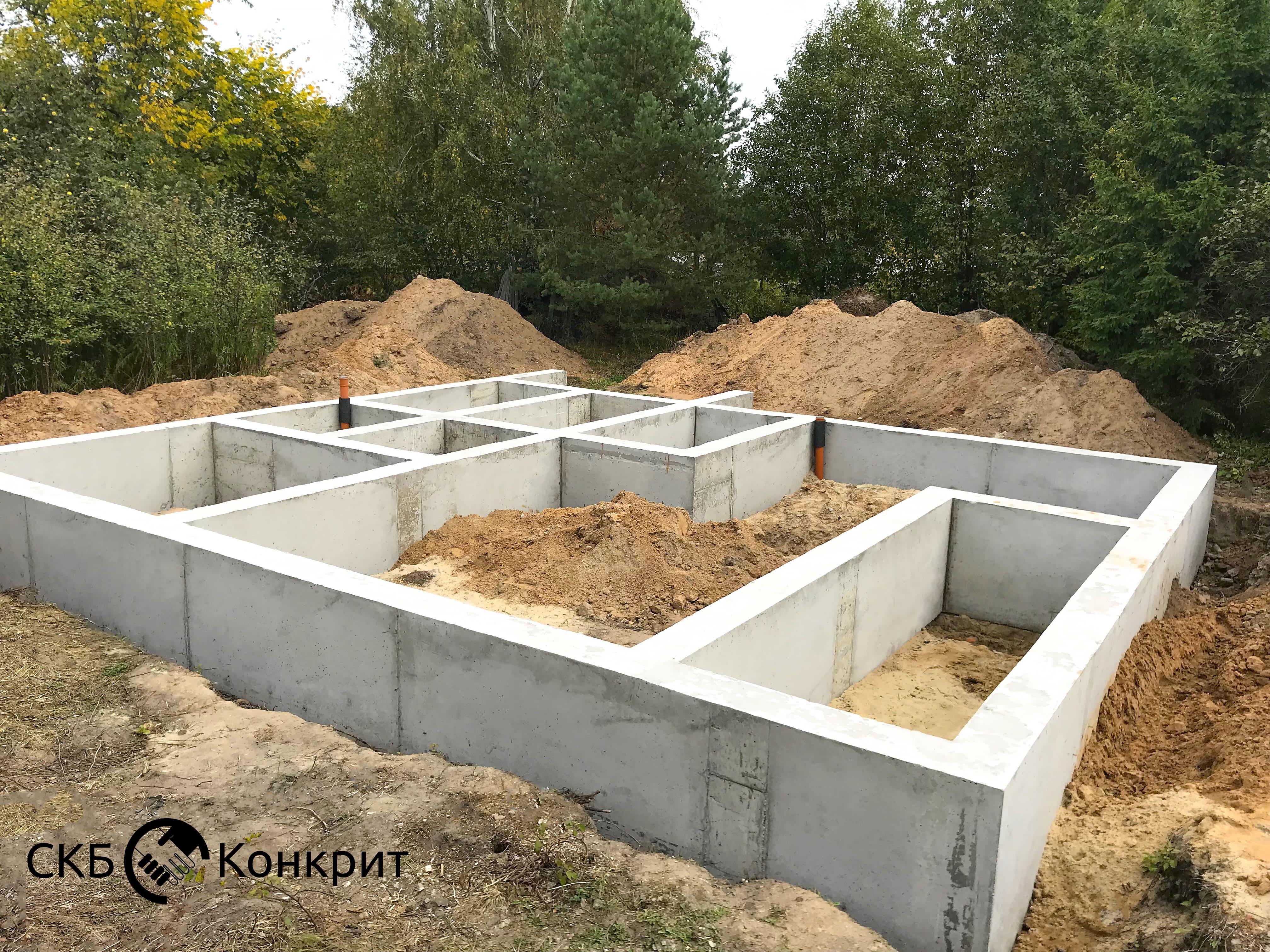 Столбчатый фундамент состоит из в Химках